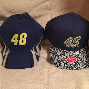 Jimmie Johnson His and Hers caps (hats)